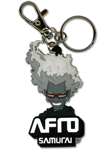 Afro Samurai Ninja Pvc Keychain, an officially licensed Afro Samurai Key Chain