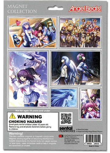 Angel Beats Magnet Collection, an officially licensed product in our Angel Beats Magnet department.