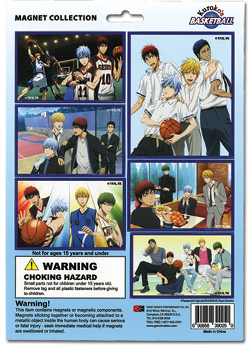 Kuroko's Basketball - Magnet Collection, an officially licensed product in our Kuroko'S Basketball Magnet department.