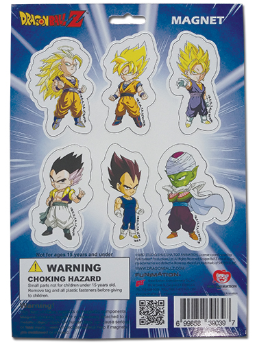 Dragon Ball Z - Magnet Collection officially licensed Dragon Ball Z Magnet product at B.A. Toys.