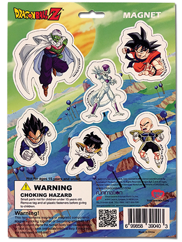 Dragon Ball Z - Magnet Collection 2 officially licensed Dragon Ball Z Magnet product at B.A. Toys.