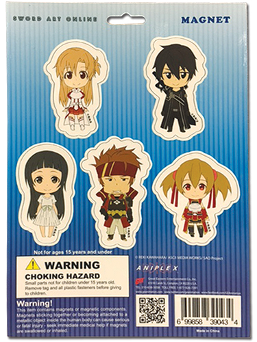 Sword Art Online - Magnet Collection officially licensed Sword Art Online Magnet product at B.A. Toys.