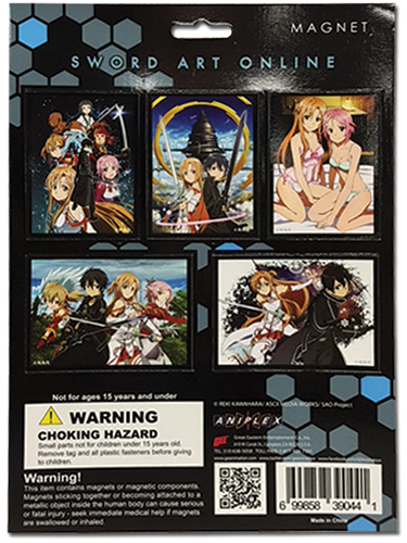 Sword Art Online - Magnet Collection 2 officially licensed Sword Art Online Magnet product at B.A. Toys.