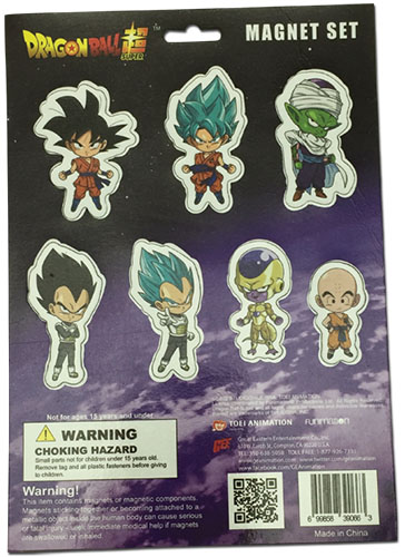 Dragon Ball Super - Resurrection F Sd Group Magnet Sheet, an officially licensed product in our Dragon Ball Super Magnet department.