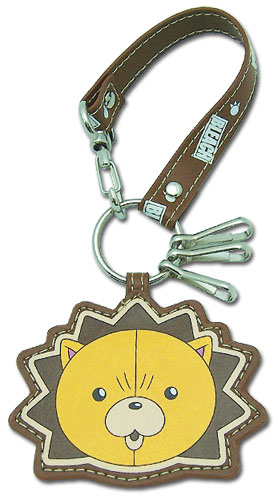 Bleach Kon Leather Keychain, an officially licensed Bleach product at B.A. Toys.