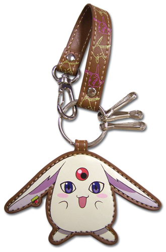 Tsubasa Mokona Leather Keychain, an officially licensed product in our Tsubasa Key Chains department.