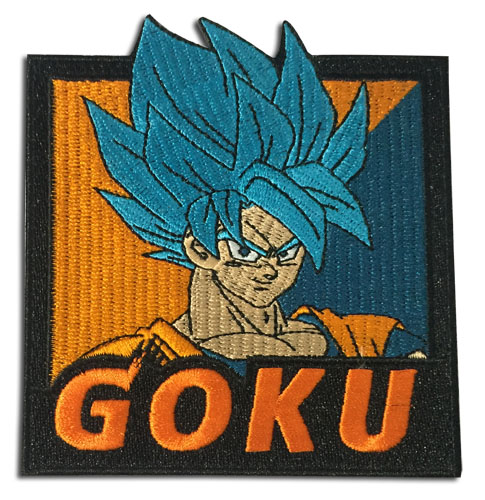 Dragon Ball Super Broly - Ssgss Goku Patch, an officially licensed product in our Dragon Ball Super Broly Patches department.