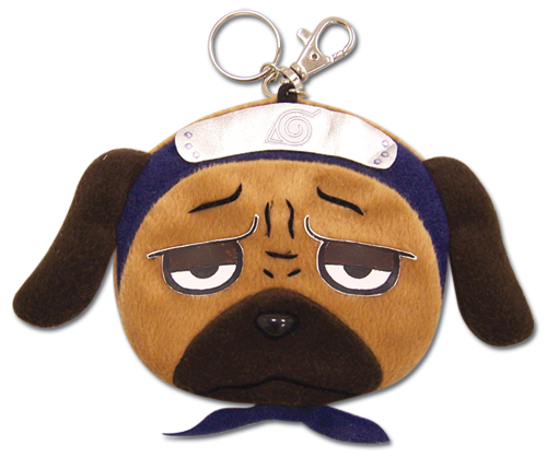 Naruto Pakkun Coin Purse Keychain, an officially licensed product in our Naruto Wallet & Coin Purse department.