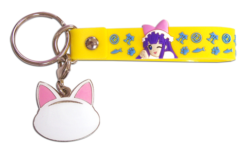Moon Phase Hazuki Pvc Strap Keychain, an officially licensed product in our Moon Phase Key Chains department.
