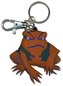 Naruto Gamakichi Keychain, an officially licensed product in our Naruto Key Chains department.