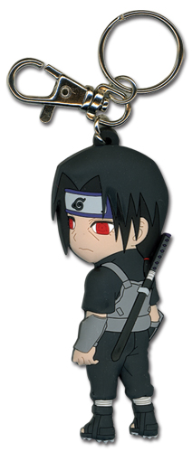 Naruto Itachi In Fighting Gear Pvc Keychain, an officially licensed product in our Naruto Key Chains department.
