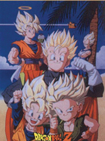 Dragon Ball Z Poster officially licensed product at B.A. Toys.