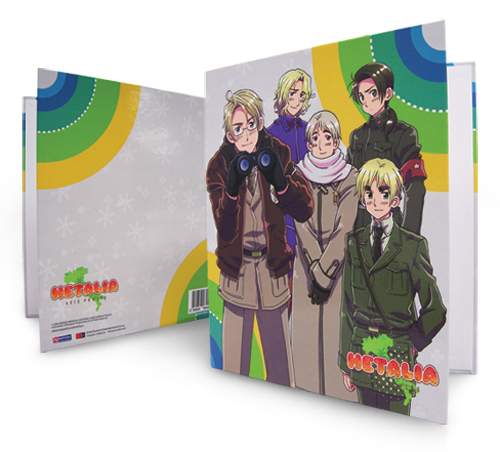 Hetalia Allied Force Binder, an officially licensed product in our Hetalia Binders & Folders department.