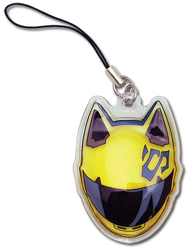 Durarara!! Celty Helmet Oil Cell Phone Charm officially licensed product at B.A. Toys.