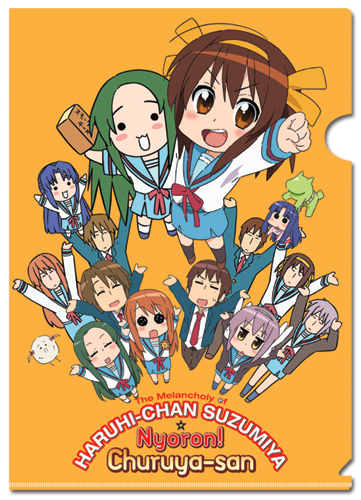 Haruhi Chan Haruhi File Folder (5 Pcs Pack), an officially licensed product in our Haruhi Stationery department.