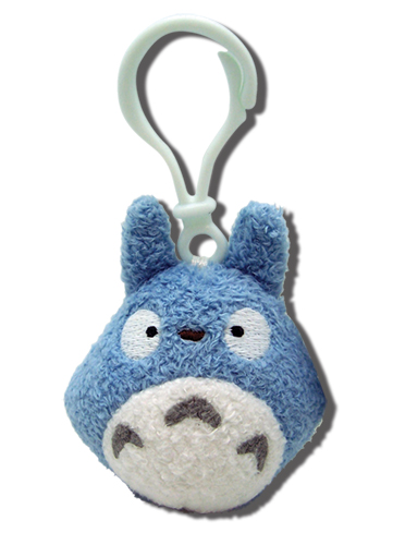 Totoro Backpack Clip -Blue, an officially licensed product in our Totoro Bags department.