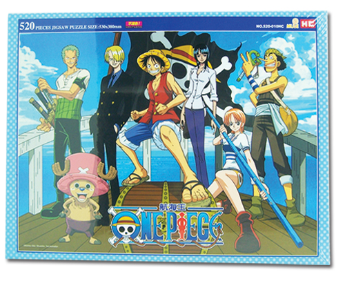 One Piece 520Pc Group Puzzle, an officially licensed product in our One Piece Puzzles department.