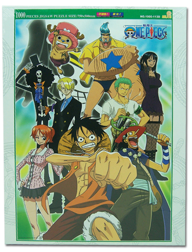 One Piece 1000Pc Group Puzzle (Glow In The Dark), an officially licensed product in our One Piece Puzzles department.