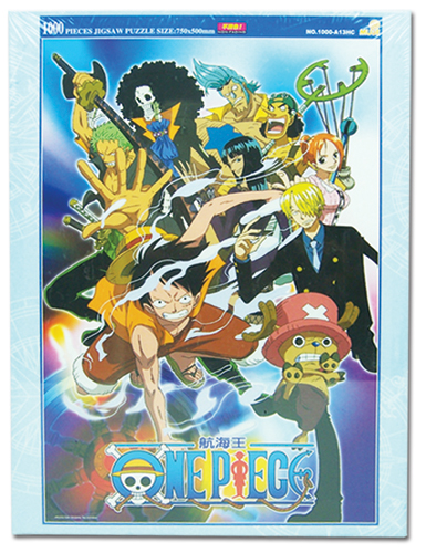 One Piece 1000Pc Group Puzzle, an officially licensed product in our One Piece Puzzles department.