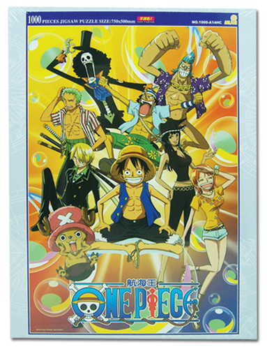 One Piece 1000pc Group Puzzle, an officially licensed One Piece Puzzle