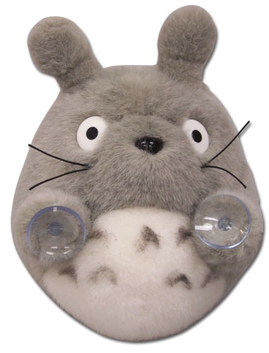 Totoro - Oh Totoro Plush Toy With Suction Cups, an officially licensed product in our Totoro Plush department.
