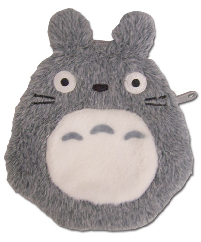 Totoro - Coin Purse Grey, an officially licensed product in our Totoro Wallet & Coin Purse department.