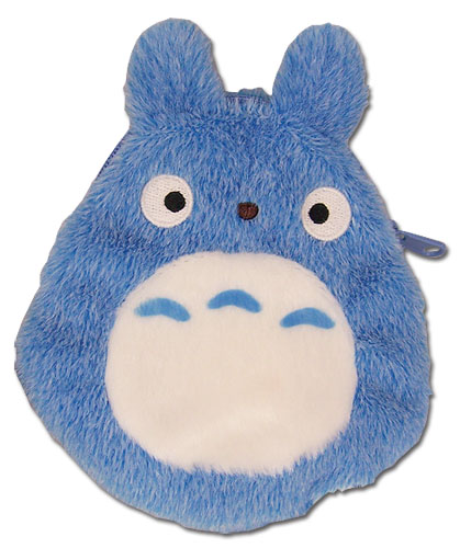 Totoro - Coin Purse Blue, an officially licensed product in our Totoro Wallet & Coin Purse department.