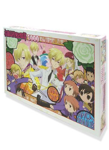 Ouran Hs Host Club 1000 Pieces Group Puzzle, an officially licensed product in our Ouran High School Host Club Puzzles department.