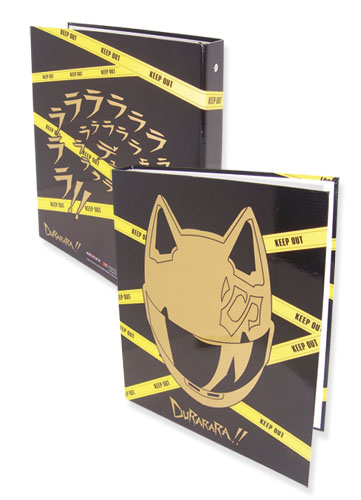 Durarara!! Celty Binder, an officially licensed Durarara Binder/ Folder