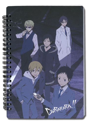 Durarara!! Celty, Mikado, Izaya Notebook, an officially licensed product in our Durarara!! Stationery department.