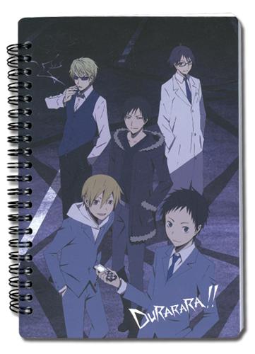 Durarara!! Celty, Mikado, Izaya Notebook, an officially licensed Durarara Stationery