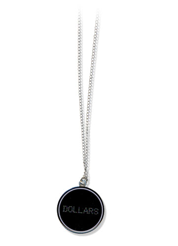Durarara!! Dollars Necklace, an officially licensed product in our Durarara!! Jewelry department.
