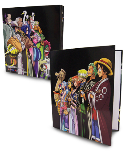 One Piece Group Binder, an officially licensed One Piece Binder/ Folder