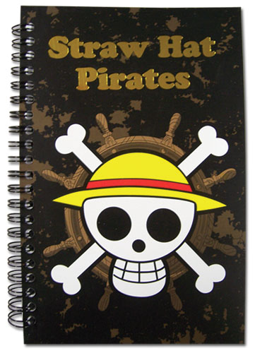 One Piece Skull Notebook officially licensed product at B.A. Toys.