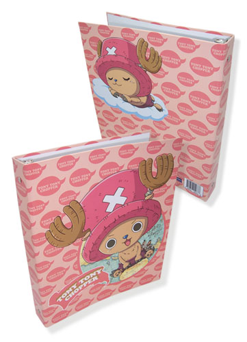 One Piece Chopper Binder, an officially licensed One Piece Binder/ Folder