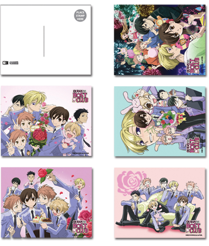 Ouran High School Host Club Ouran Postcards, an officially licensed product in our Ouran High School Host Club Stationery department.