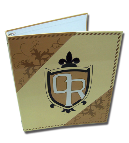 Ouran High School Host Club School Emblem Binder, an officially licensed product in our Ouran High School Host Club Binders & Folders department.
