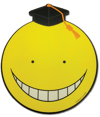 Assassination Classroom - Koro Sensei Normal Face Mouse Pad, an officially licensed Assassination Classroom product at B.A. Toys.