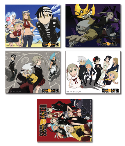 Soul Eater Postcards, an officially licensed product in our Soul Eater Stationery department.