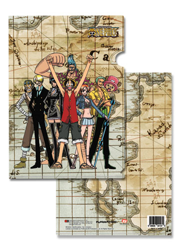 One Piece Group File Folder (5 Pcs Pack), an officially licensed product in our One Piece Stationery department.
