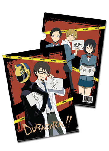Durarara!! Durarara File Folder, an officially licensed product in our Durarara!! Binders & Folders department.