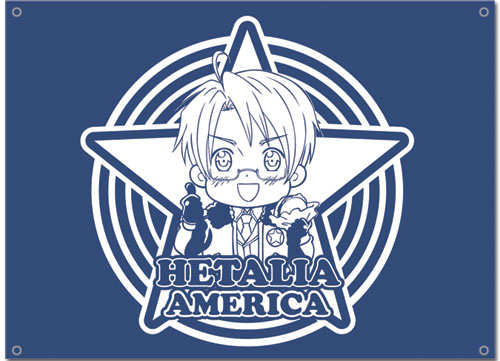 Hetalia America Flag, an officially licensed product in our Hetalia Flag department.