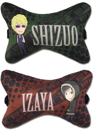 Durarara - Shizuo & Izaya Car Pillow (2 Pcs/set) officially licensed product at B.A. Toys.