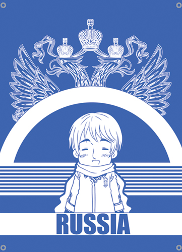 Hetalia Russia Flag, an officially licensed Hetalia Flag