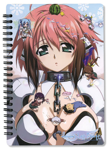 Heaven's Lost Property Crew Notebook, an officially licensed product in our Heaven'S Lost Property Stationery department.