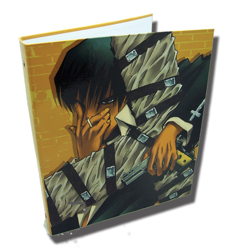 Trigun Wolfwood Binder officially licensed product at B.A. Toys.