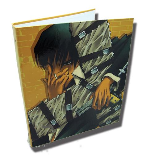 Trigun Wolfwood Binder, an officially licensed Trigun Binder/ Folder
