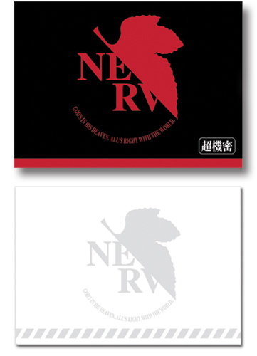 Evangelion Nerv Logo Memo Pad, an officially licensed product in our Evangelion Stationery department.