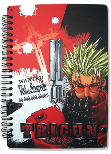 Trigun Vas Notebook, an officially licensed product in our Trigun Stationery department.