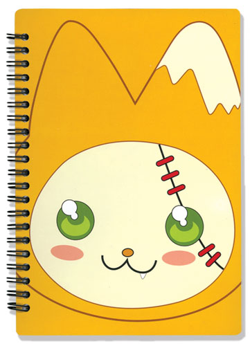 Moon Phase Hazuki's Cat Notebook, an officially licensed product in our Moon Phase Stationery department.